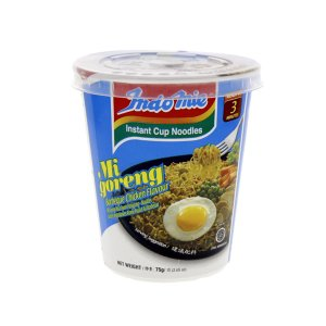 Indomie Chicken Barbeque Fried Cup Noodles 75gm