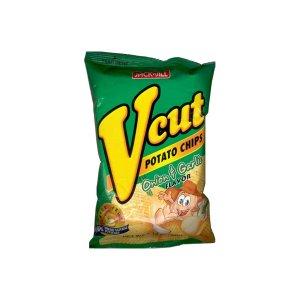 Jack N Jill Onion And Garlic V Cut Potato Chips - 60 Gm
