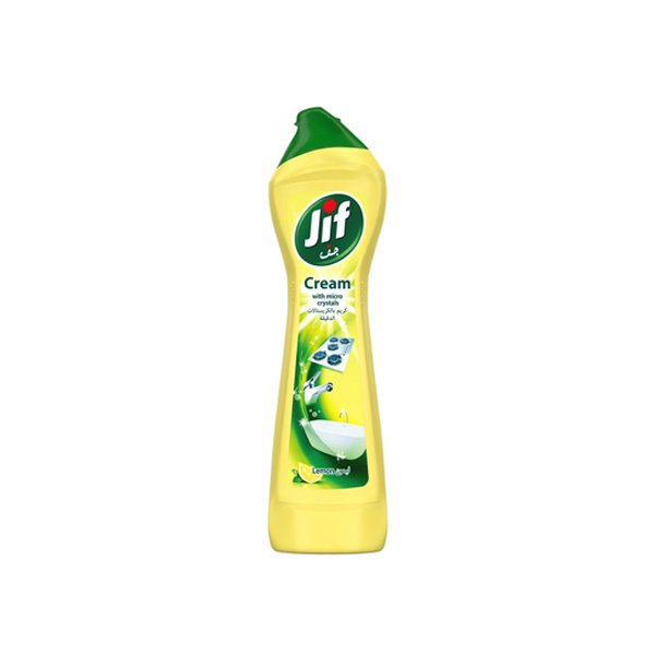 Jif Cleaning Cream With Microparticles Lemon 500ml