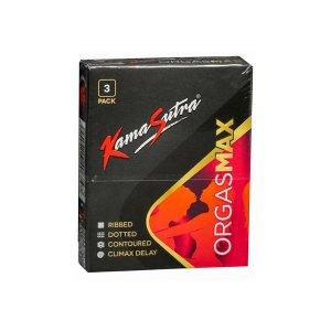 Kama Sutra Condom Ribbed 3s