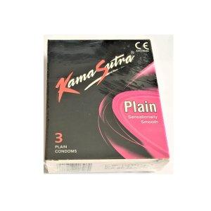 Kamasutra 3-piece Plain Condom Pack