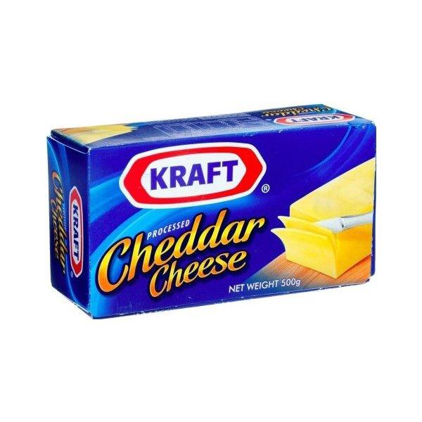 Kraft Cheddar Cheese 500gm