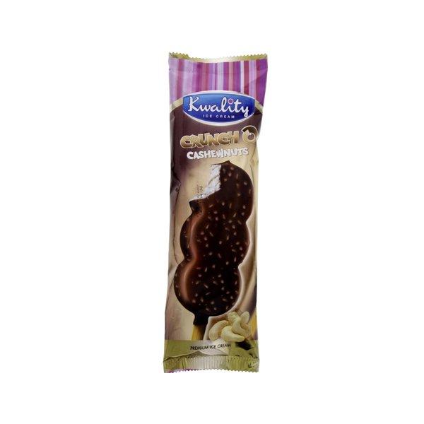 Kwality Ice Cream Cruncho Cashewnuts 1pc