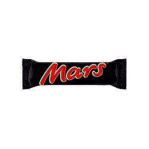 Mars Chocolate Bar Single 51g