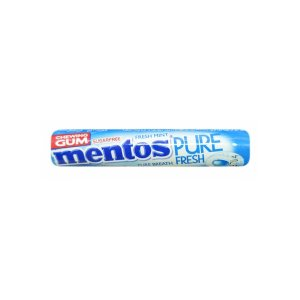 Mentos Pure Fresh Chewing Gum With Mint Flavor - 15.75g