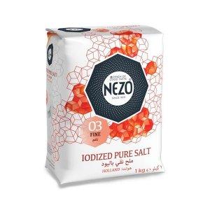 Nezo Fine Table Salt Iodized 1 Kg