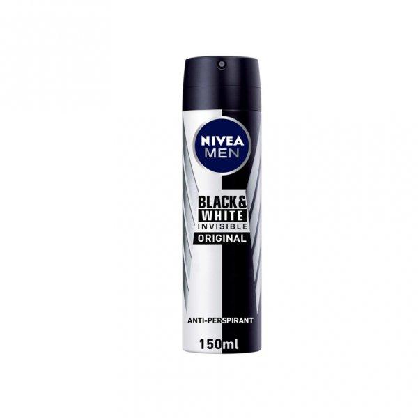 Nivea Men Deo Spray Black & White Original 200ml