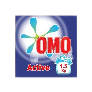 Omo Active Powder Laundry Detergent 1.5kg