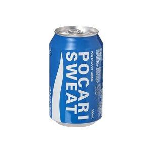 Pocari Sweat Liquid Isotonic Drink Can 330ml