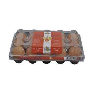 Saha Extra Fresh Brown Medium Eggs 15