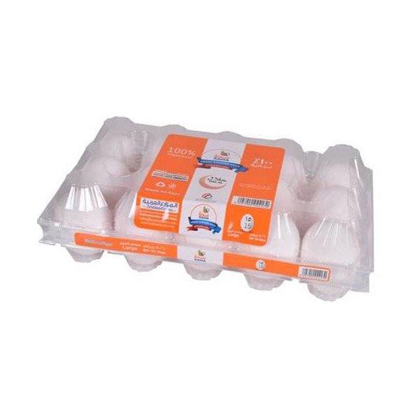 Saha Extra Fresh White Large Eggs 15