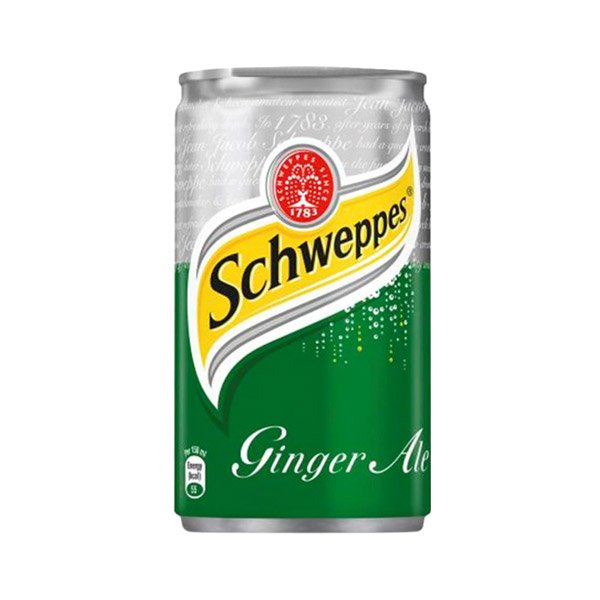 Schweppes Ginger Ale Soft Drink Can 150ml