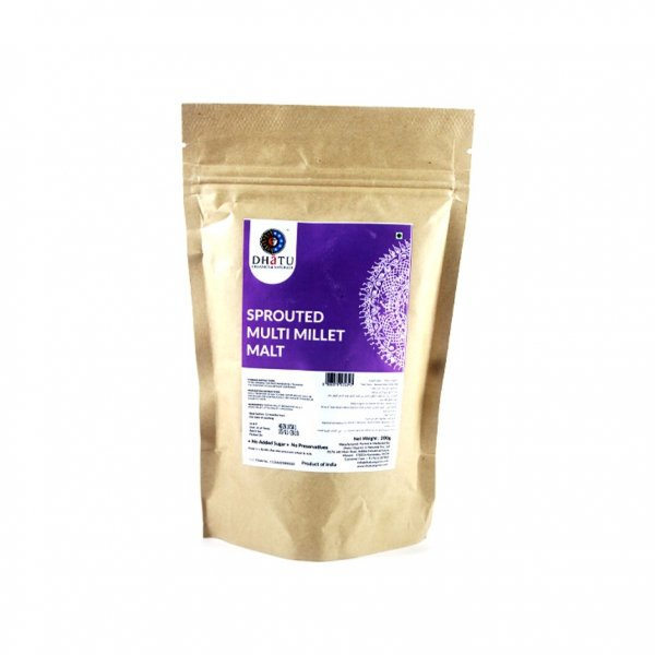 Organic Sprouted Multi Millet Malt 200g