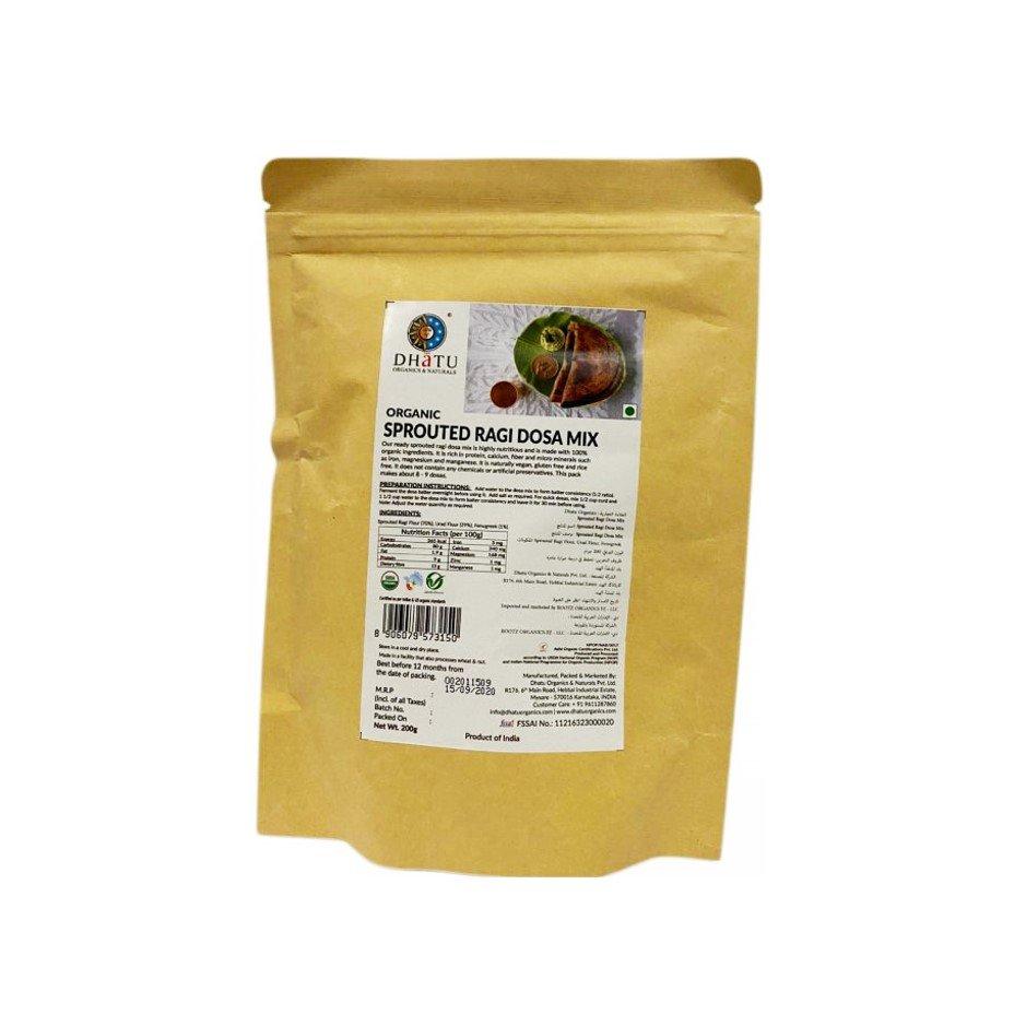 Organic Sprouted Ragi Dosa Mix 200g
