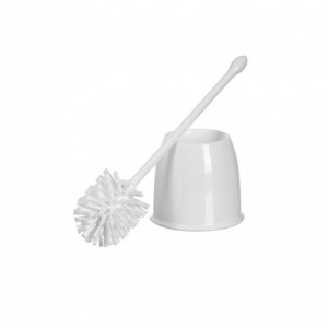 Toilet Cleaning Brush With Round Container