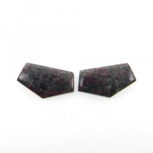 1 Pair Eudialyte 18x10mm Fancy Shape 12.05 Cts