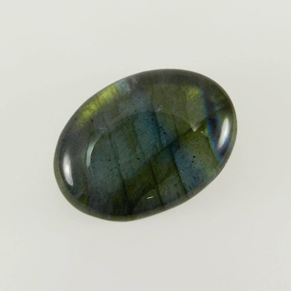 13x18mm Oval 13.4 Cts Crystal + Labradorite Doublet