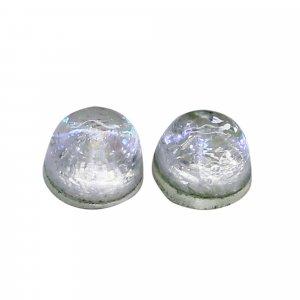 2 Pcs Opal Doublet 4x4mm Round Cabochon 0.75 Cts
