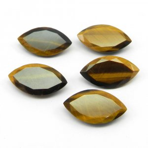 22x12mm Marquise Cut Yellow Tiger Eye 8.6 Cts