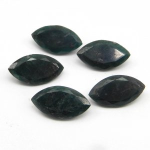 22x12mm Natural Emerald Corundum Marquise Cut 8.6 Cts
