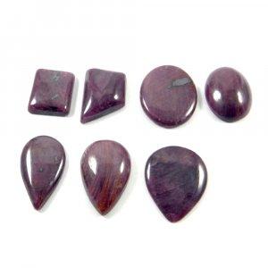 25 Gms Natural Ruby Mix Freeform Cabochon