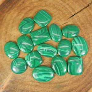 50 Grams Malachite Mix Shape Cabochon Wholesale Lot