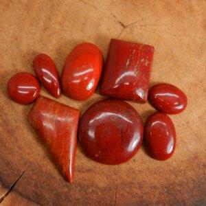 50 Grams Red Jasper Mix Shape Cabochon Wholesale Lot