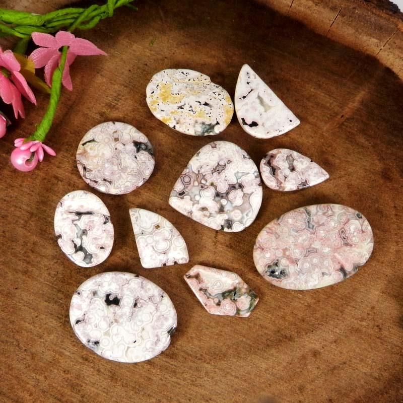 50 Grams Rosetta Mix Shape Cabochon Wholesale Lot