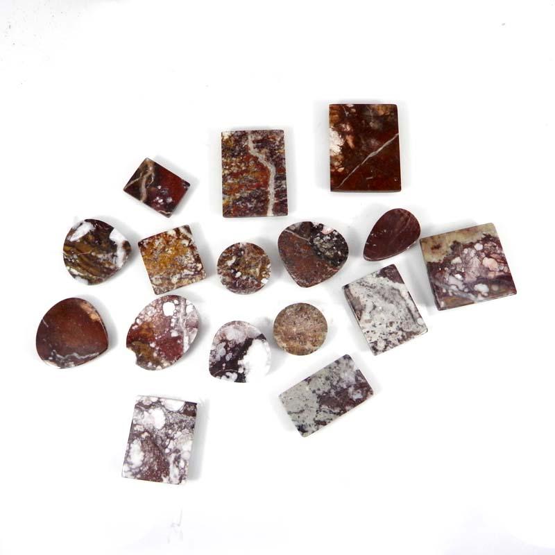 50 Grams Wild Horse Jasper Mix Shape Cabochon Wholesale Lot