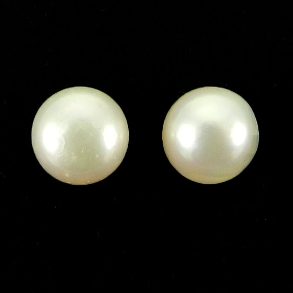 7mm Round White Pearl 1.95 Cts