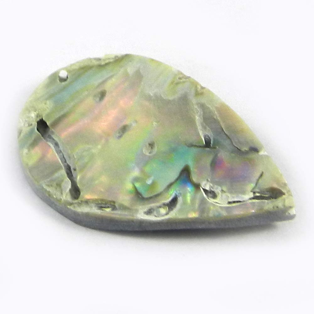 Abalone Shell 17x25mm Pear 1.19 gms