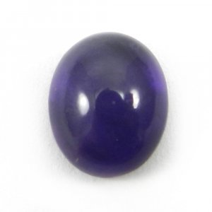 African Amethyst 10x8mm Oval Cab 2.5 Cts