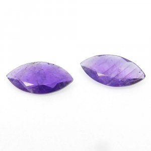 African Amethyst 24x12mm Marquise Cut 8.3 Cts