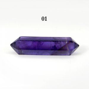African Amethyst 30x7mm Double Terminated Pointed Pencil 14.75 Cts