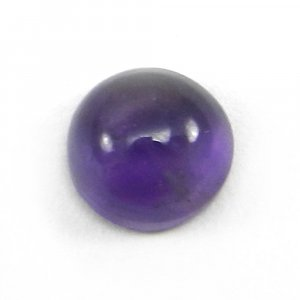 African Amethyst 6mm Round Cab 0.9 Cts