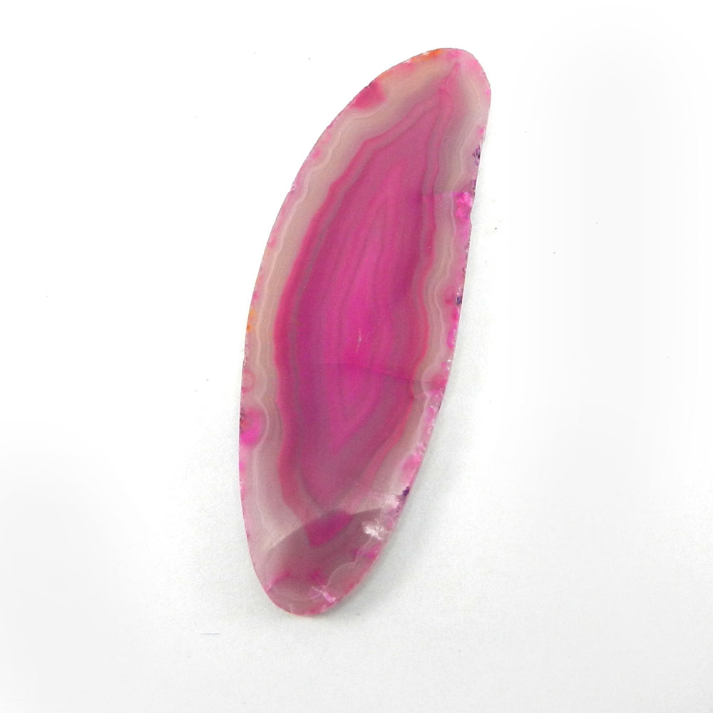 Agate Slice  75x25mm Fancy Uneven 68.7 Cts