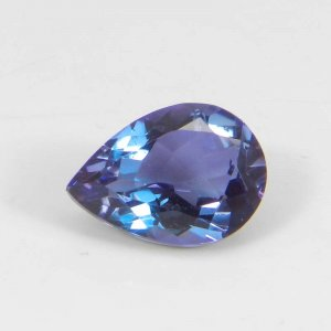 Alexandrite Doublet 13x9mm Pear Faceted Cut 5.10 Cts