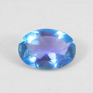 Alexandrite Doublet 14x10mm Oval Faceted Cut 5.50 Cts