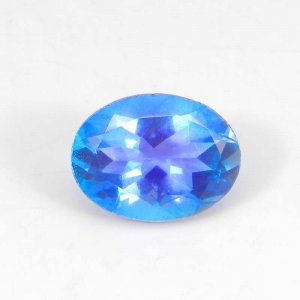 Alexandrite Doublet 16x12mm Oval Faceted Cut 8.85 Cts