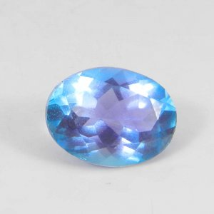 Alexandrite Doublet 16x12mm Oval Faceted Cut 9.80 Cts