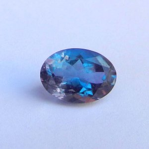 Alexandrite Doublet 19x13mm Oval Faceted Cut 5.65 Cts