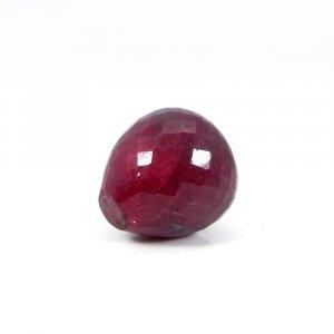 Amazing Ruby Corundum Onion Checker Cut 16mm Round 38.65 Cts
