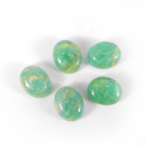 Amazonite 10x8mm Oval Cabochon 3.35 Cts