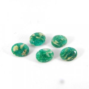 Amazonite 10x8mm Oval Faceted Cut 2.85 Cts