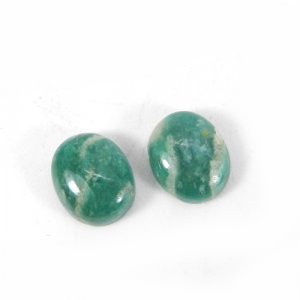 Amazonite 12x10mm Oval Cabochon 4.70 Cts