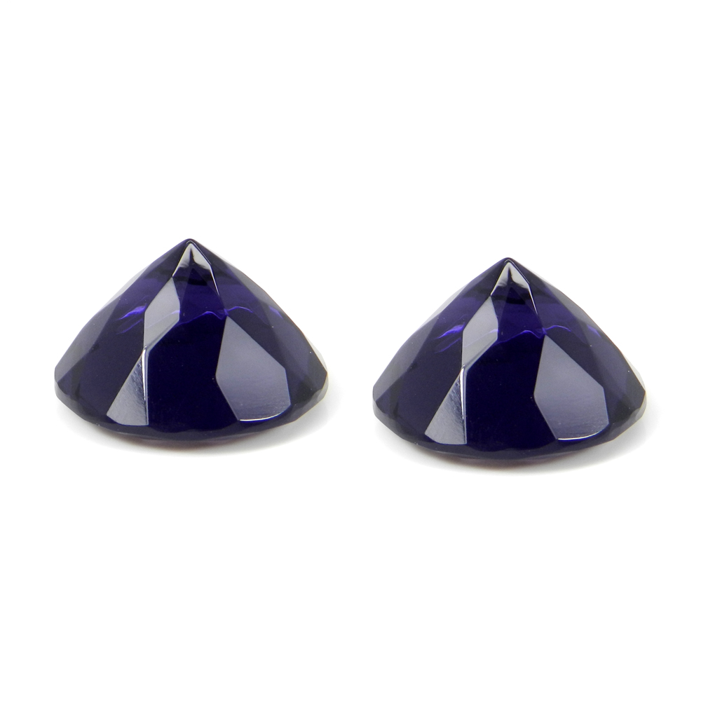 Amethyst 18mm Round Faceted Cut 16.80 Cts