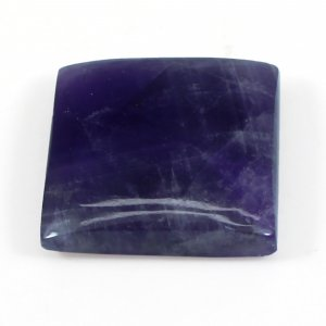 Amethyst Lace Agate 19x19mm Square Cabochon 20.45 Cts