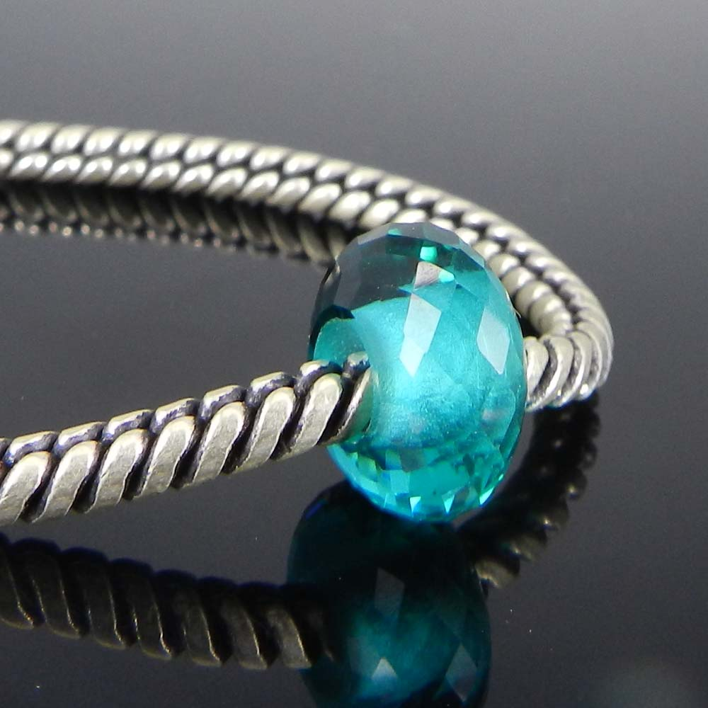 Apatite Hydro 14x8x5mm Roundel Facet Beads