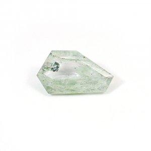 Aqua Crackle Glass 13.85 Cts Fancy Cut 24x14mm Loose Gemstone