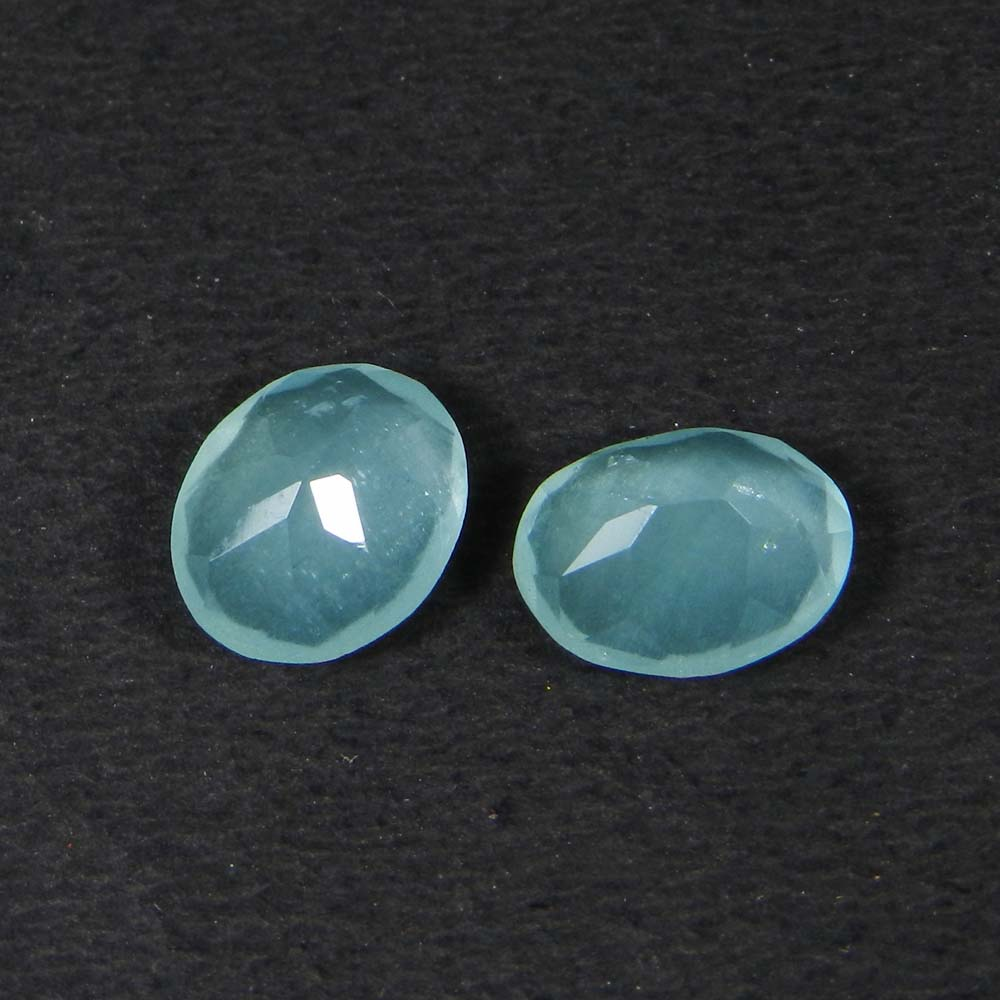 Aquamarine 10x8mm Oval Faceted Cut 2.50 Cts